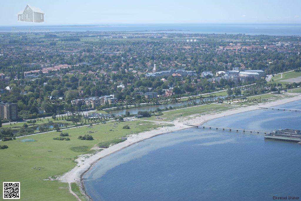 Ribersborgstranden i Malmö